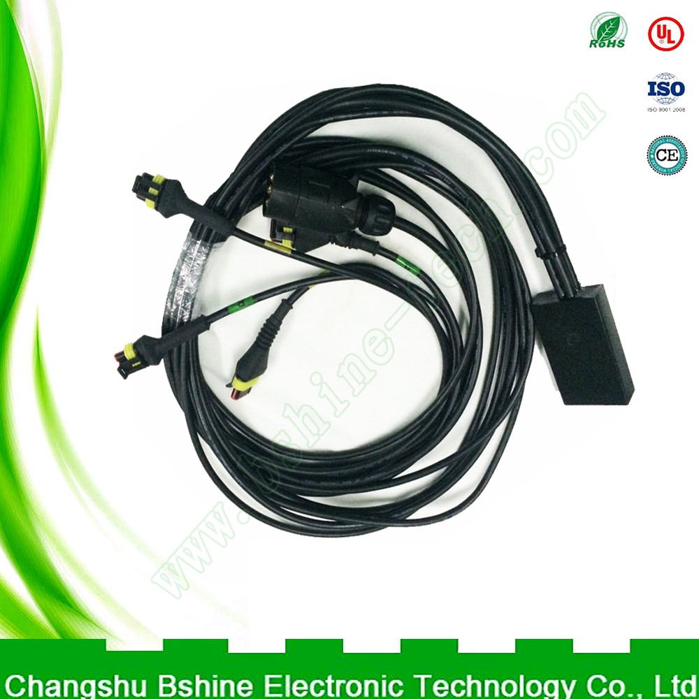 Customized High quality motorcycles and cars wire harness