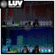 hot sale professional soft stage light led video curtain