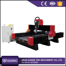 Marble granite engraving machine /heavy stone cnc router price in factory Jinan Sange