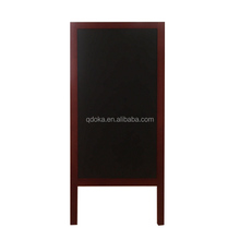 factory new design Chef menu double sided A frame decorative chalk board easel