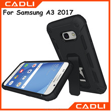 Heavy Duty Armor Shockproof Hard Silicone Rubber Phone Case For Samsung A3 2017