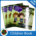 low cost matt coated paper children's paperback book printing