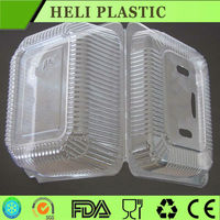 clear plastic strawberry tray/container/box