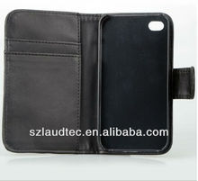 Ultra Scrawl Cute Wallet Leather Case for iPhone5 5S