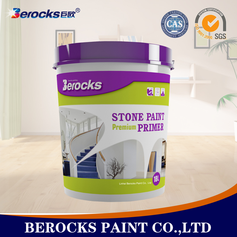 Eco-friendly stone texture wall paint