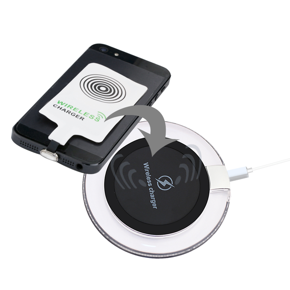 universal transparent wireless charger pad quick charge