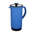 Cafe Style French Ceramic Deep Blue French Coffee Press