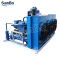 SamBo High Quality Bitzer Compressor Commercial 4000KG Per Day Flake Ice Machine For Bakery