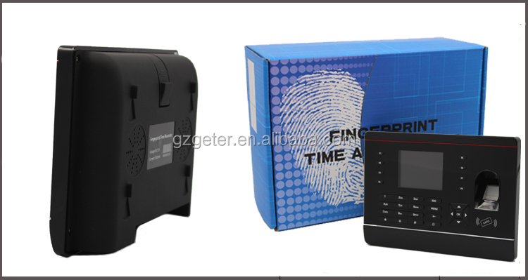 2.8 Inch Screen biometric fingerprint&proximity card time attendance