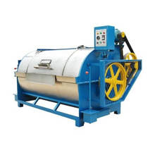 high production/output- fiber/wool washing combination machine