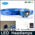 3 watt LED head Light Wholesale Waterproof Strong Light Zoom Rechargeable Headlamp white/green/blue/black/red color optional