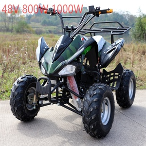 2018 hot sell cheap chinese 800W 1000W 48V adult electric atv quad 4x4