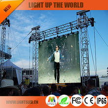 light weight 500x1000mm events rental led display P3.91 P4.81 P6.25 rental video wall