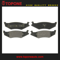 For DODGE Spirit Disc Brake Pad 4383883 Back Plate Price