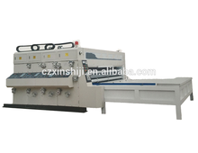 SYFK 530ink corrugated board multicolor printing, dividing, indention, corner cutting and slotting machine