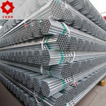 erw black tube galvanized steel pipe post and rail fencing