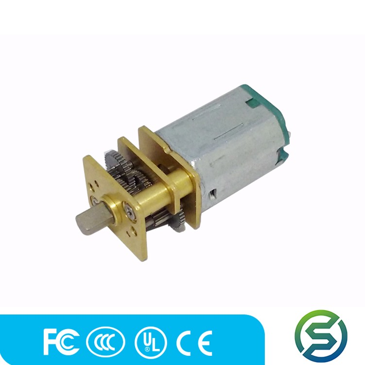 customized 5v dc gear motor GM12-N20 for Robot, 3D Printer China supplier