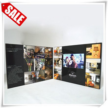 "Manufacture 5""sd card video/lcd music video card /lcd video brochure card"