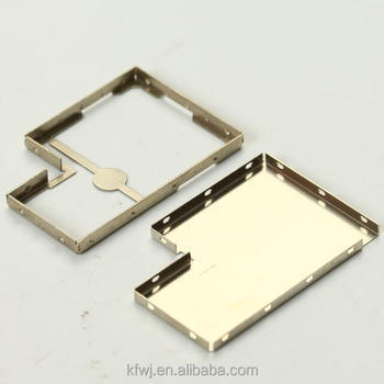 0.3mm Customized two piece rf shield can for easy replacement