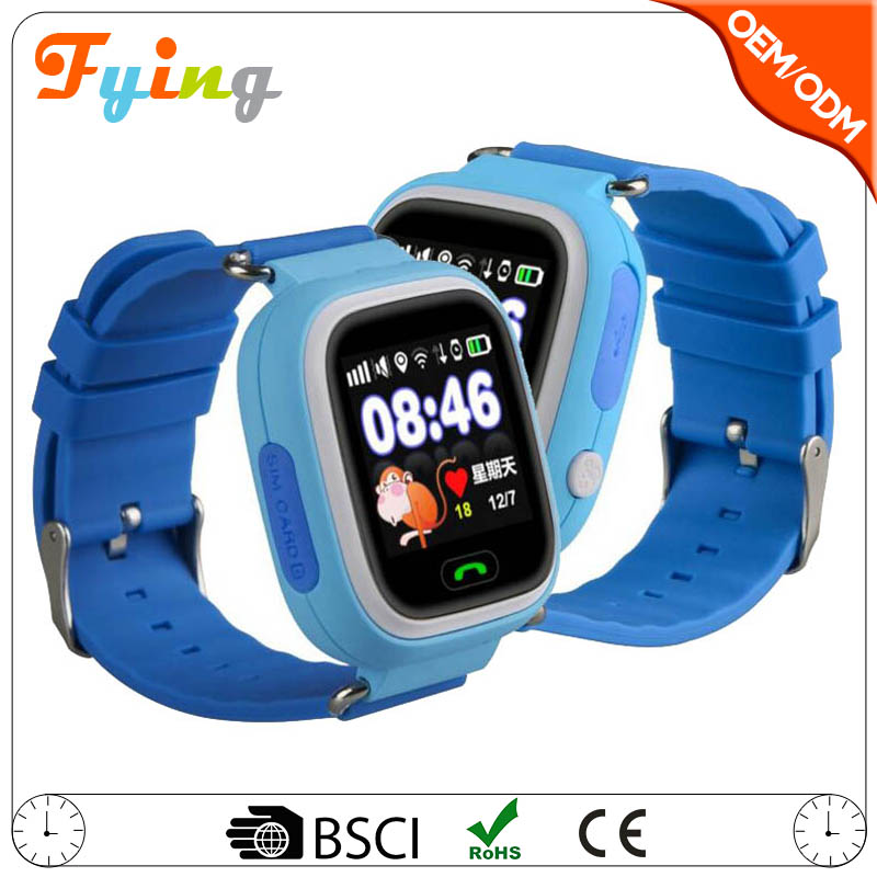 q90 gps kids smart watch, watch mobile sim card gps reloj,new smart watch phone with gps wifi