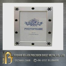 manufacturing precision casting small stainless steel photo frame made in China