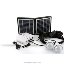 Cheap promotional price portable solar panel system with mobile mini solar charger