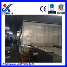 High quality quick freezer cold freezing tunnel for food