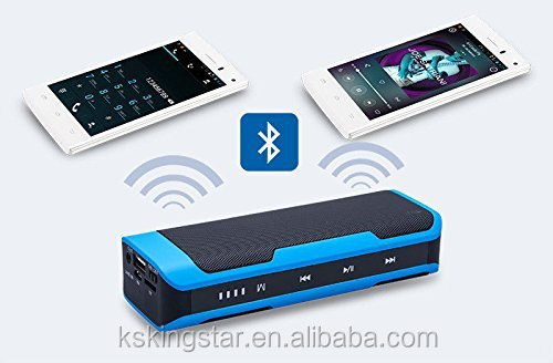 Wireless portable power bank Bluetooth speaker