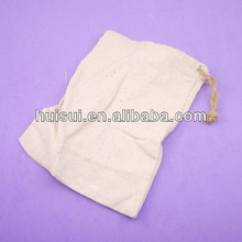 High quality jute drawstring gift pouch