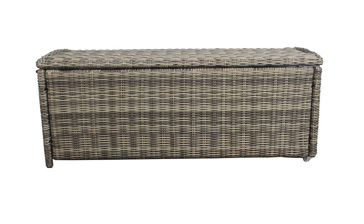 Cushion box rattan patio cushion box storage cushion box