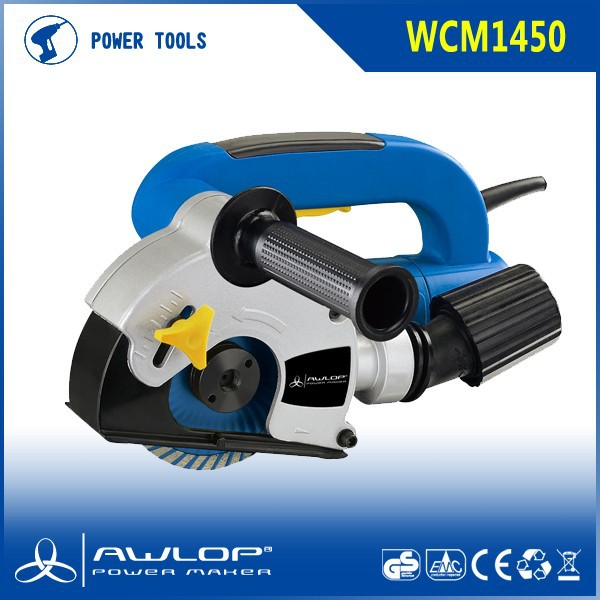 1450W 125mm Wall Chaser for Push and Pull Cutting