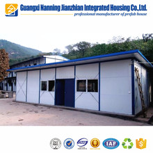 Prebuit refugee camp panelized system housing modular house for sale