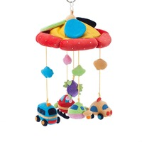 Alibaba hot China wholesale plush animal toy hanging on baby crib musical mobile