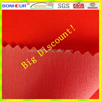 high vis TC drill fabric for workwears
