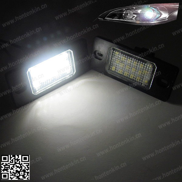 LED Number License Plate Light Lamp fit GOLF MK4 MK5 MK6 Passat CC Scirocco T led house number light