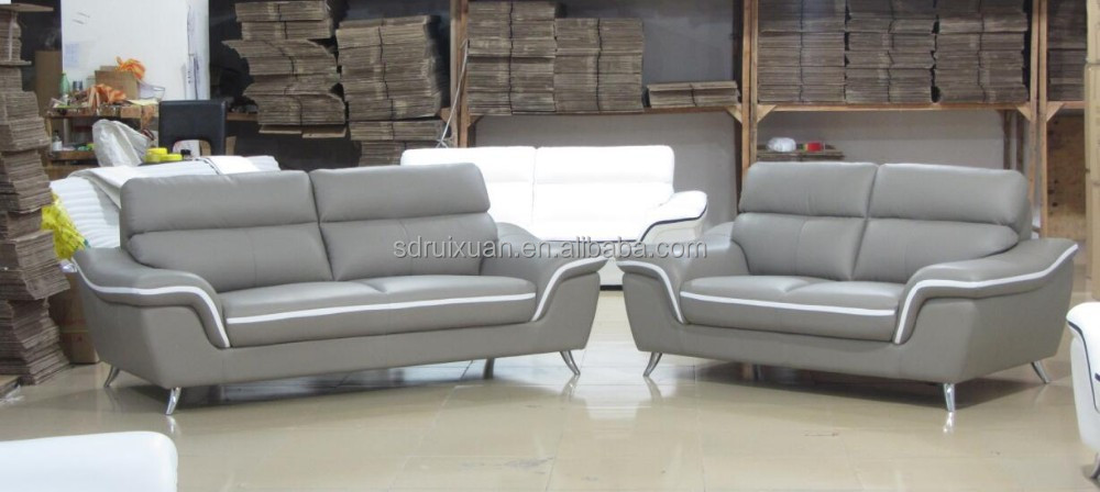 Low price modern living room leather sofa set furniture for Low sofa set