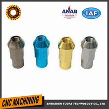 CNC custom automotive equipment parts steel brass plastic hole fasteners