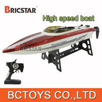 2015 newest 2.4G 4CH high speed RC cheap motor yacht 15km/h good for your trip.