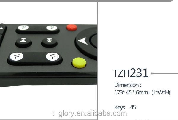 tv remote control for skyworth with high quality