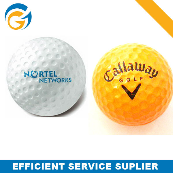 Golf Ball Custom Shape Anti-stress Ball with Logo