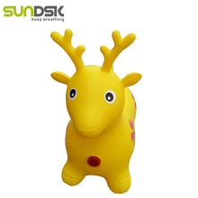 Hot selling pvc jumping animal toy hopper