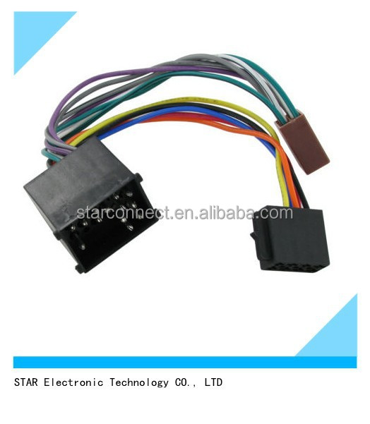 adapter iso connector radio stereo wire harness for bmw automotive buy radio stereo wire