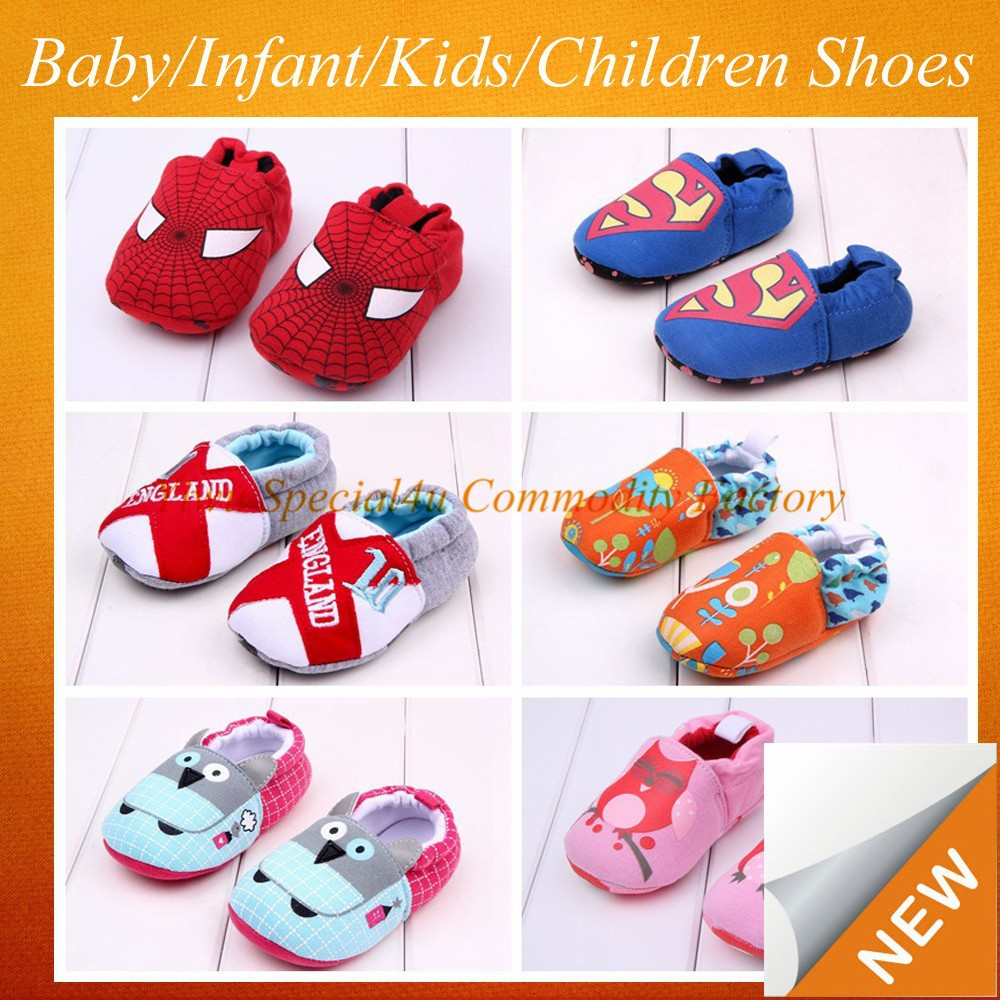 Fancy Children's Cotton shoes, shoes in winter hand crochet baby shoes CBS-107