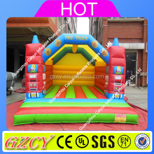 2016 new fire truck design inflatable bouncy castle, inflatable bouncers
