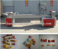 YB-600 High Speed Candy Flow Packing Machine with Feeding Plate /0086-13611835825
