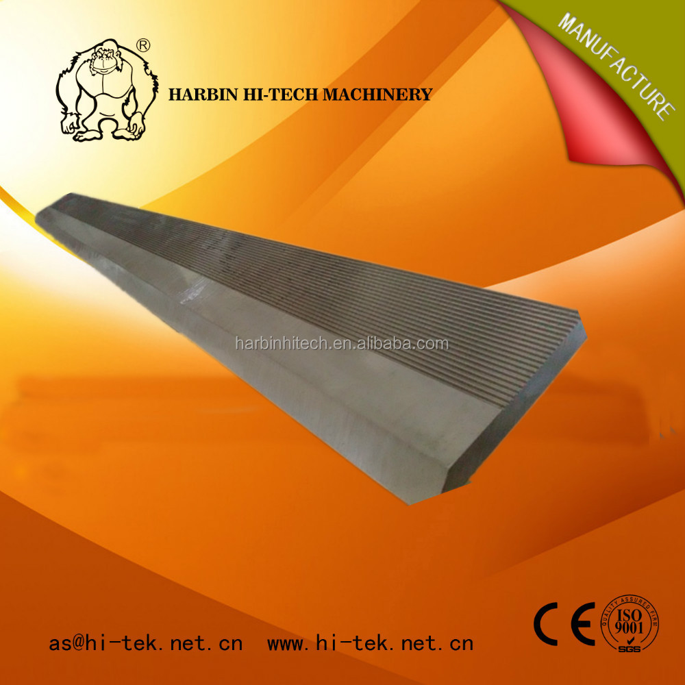 HSS &TCT corrugated serrated knife/woodworking machinery tool