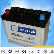 12V maintenance free automobile used car battery/car batteries for sale