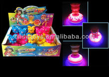 Luminous spinning top oversized light music spinning top colorful spinning top rotating flash toy