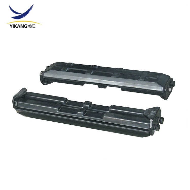 excavator undercarriage parts rubber track pads
