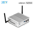 Fanless Mini PCs Celeron N2930 Quad-core 1.83GHz 8G RAM 64G SSD Software Windows7 Wifi Computer Game